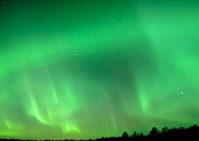 Alertas de auroras boreales