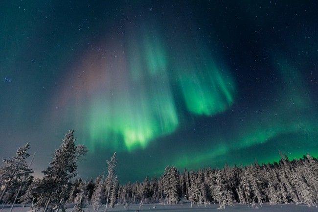 La noche, cómplice de la Aurora Boreal