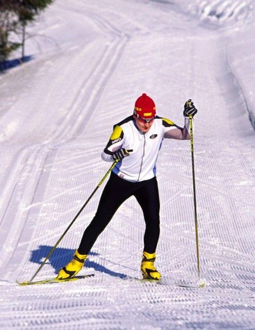 Esquí de fondo en modalidad patinaje