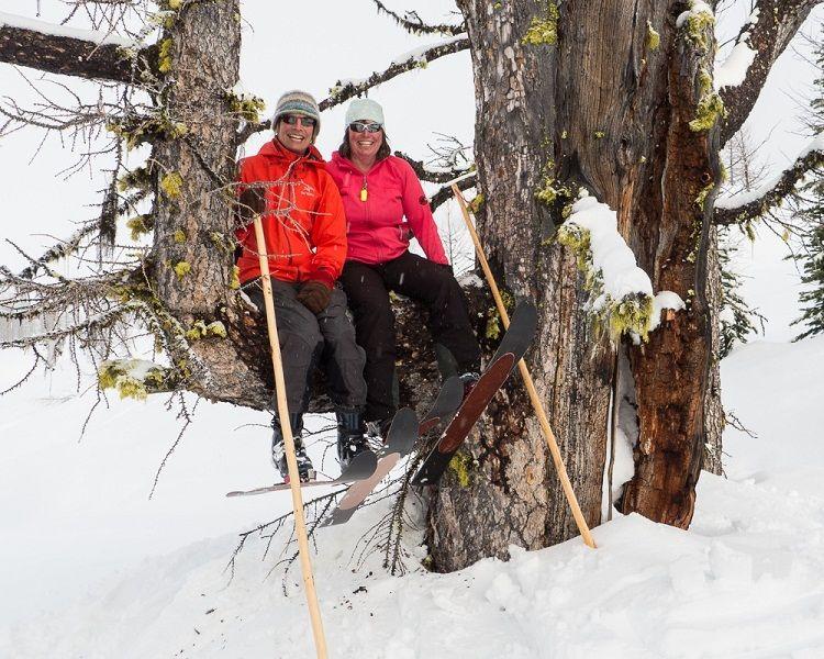 Con los esquís Altai la diversión está asegurada
