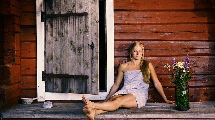 La sauna es momento de relax
