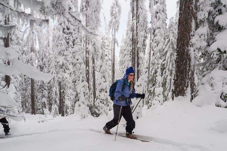 Los esquís Altai son más ligeros que las raquetas convencionales