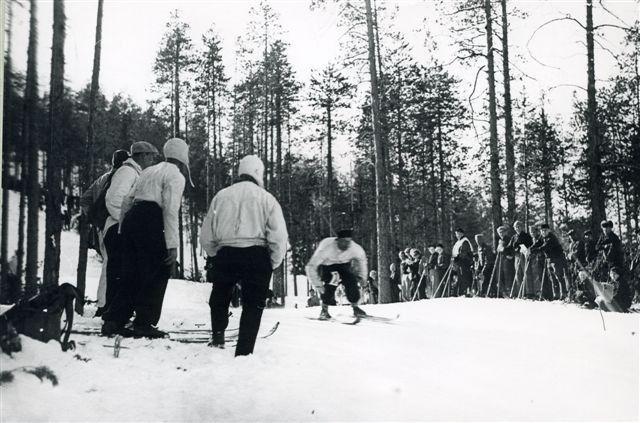 Estación de esquí de Salla en los años 30