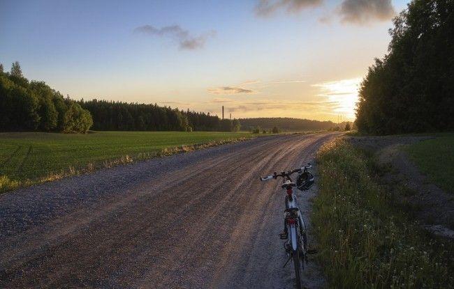 Carretera interior en el Archipelago Trail