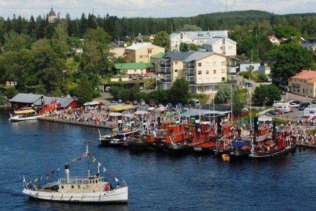 Desde Puumala empiezan muchos de los cruceros por el lago Saimaa