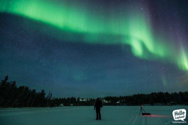 Fotografiando la Aurora Boreal