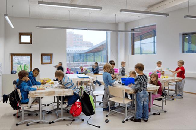 El diseño de las aulas también ayuda al estudio