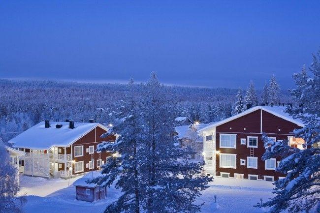 Apartamentos de clase superior en el hotel Äkäshotelli