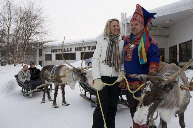 Un día de invierno en el hotel Hetta