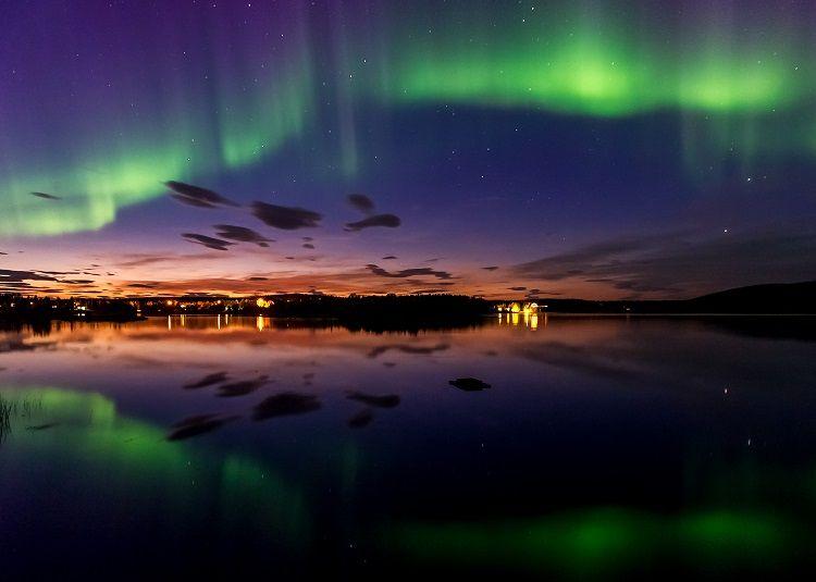 Como editar fotografías de la Aurora Boreal (1)
