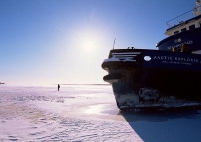 Rompehielos Polar Explorer y Arctic Explorer