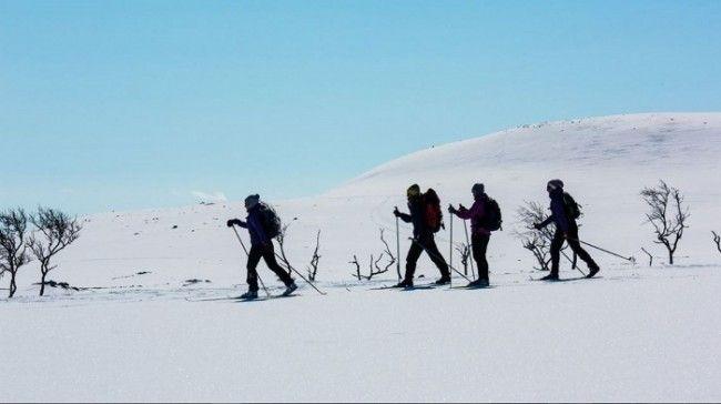 Esquí de fondo en Nuorgam