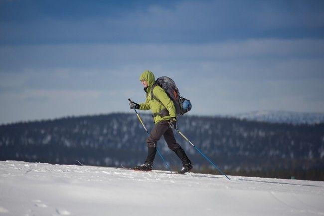 Esquí de travesía en el parque nacional de Urho Kekkonen