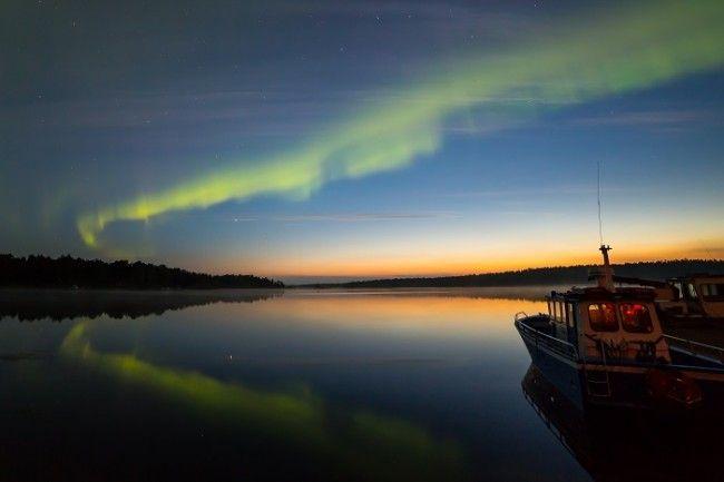 Lago Inari en Nellim