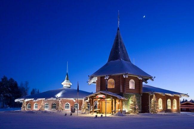Christmas House en el pueblo de Papá Noel