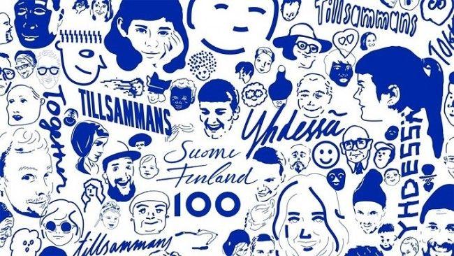 100 aniversario de la independencia de Finlandia