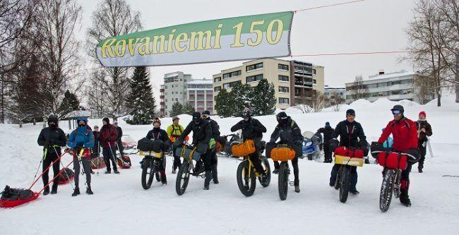 14 participantes en la salida de la primera edición de la Rovaniemi150