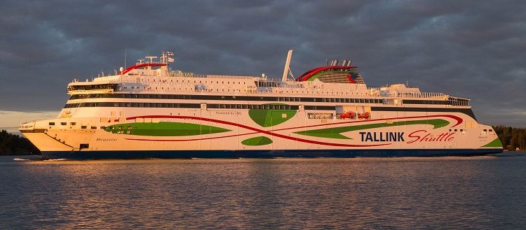 Megastar, el ferry más grande y rápido del mar Báltico