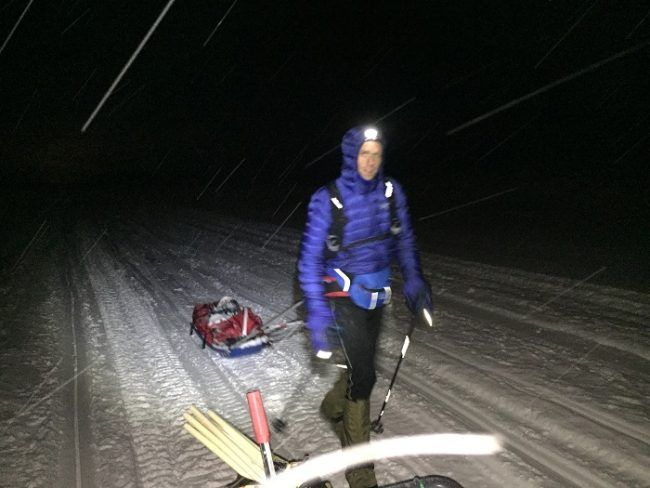 El inglés Julian Hall, vencedor de la Rovaniemi300, a pocos kilómetros de la meta