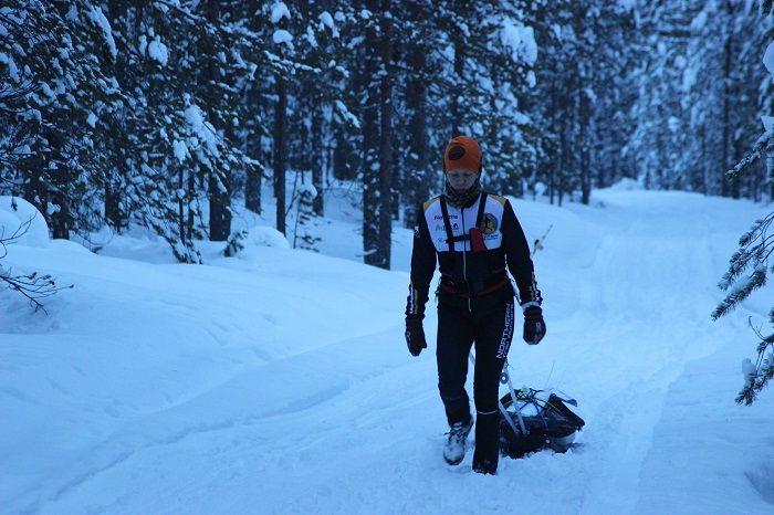 Rovaniemi150, el ultramaratón del frio.