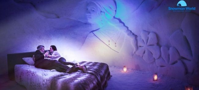 La habitación Taiga. Otro nido de amor en el hotel de hielo
