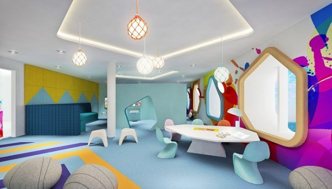 Sala de juegos para los niños