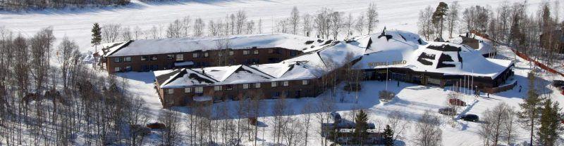 El Hotel Ivalo se encuentra a la orilla del río Ivalo