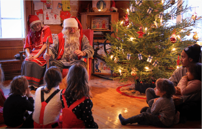 Santa Claus en Ruka