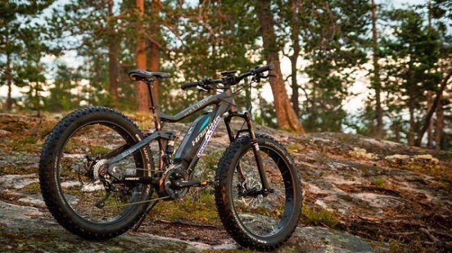 Bicicleta eléctrica de ruedas gordas