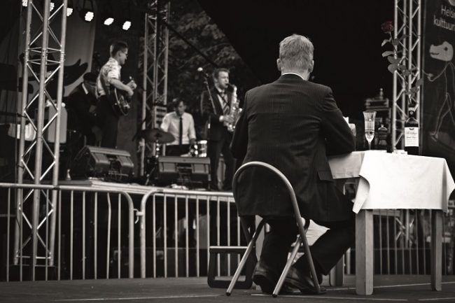 Concierto de Jazz en el-barrio de Kallio