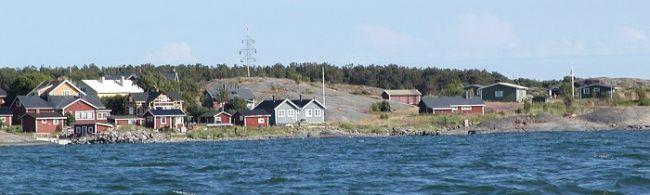 El pueblo de la isla de Jurmo