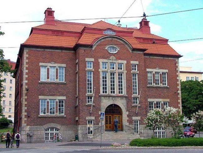 La biblioteca de Kallio 1912