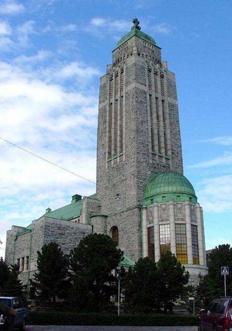 La iglesia de Kallio