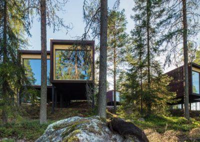 Hotel Arctic Tree House de Rovaniemi en verano