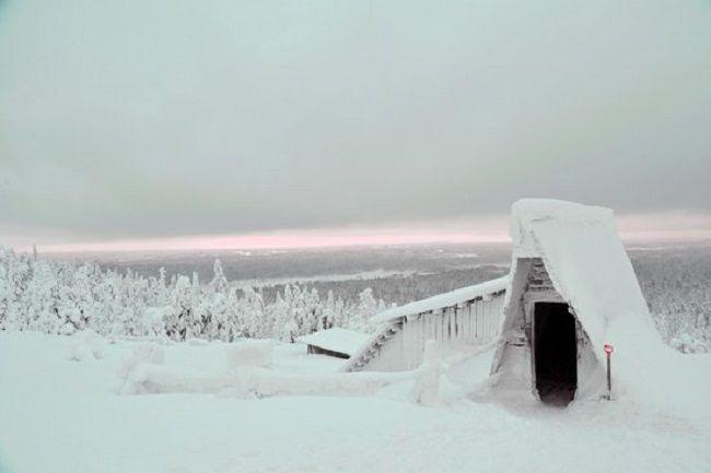 En busca de amatistas en Laponia