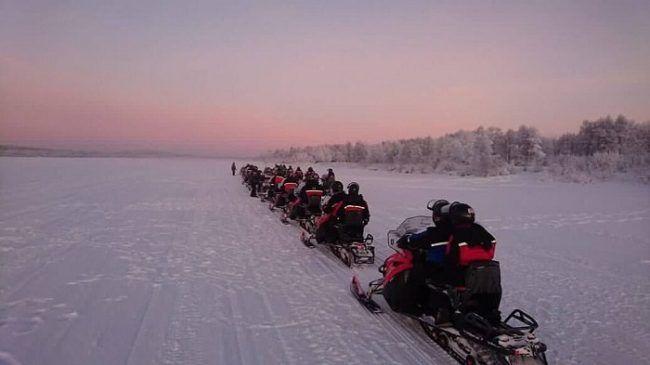 Saliendo de Rovaniemi por el río Ounasjoki