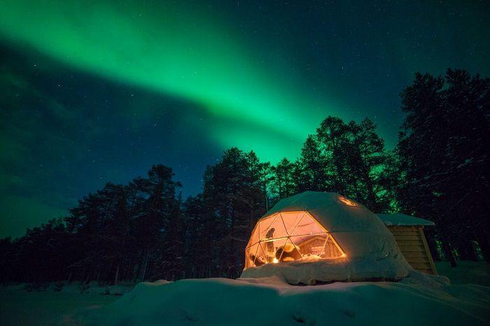 Noches de Aurora Boreal