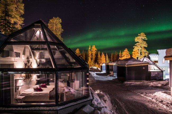 Los iglus de Santa's Hotel
