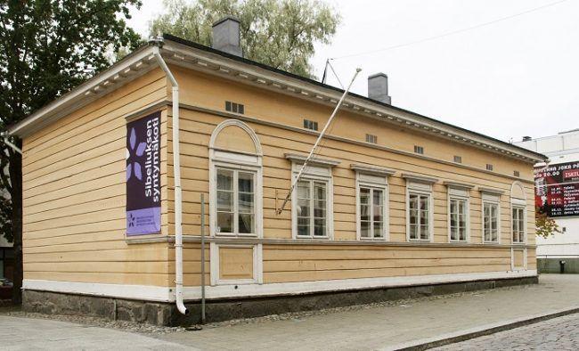 Casa donde nació Sibelius en Hämeenlinna