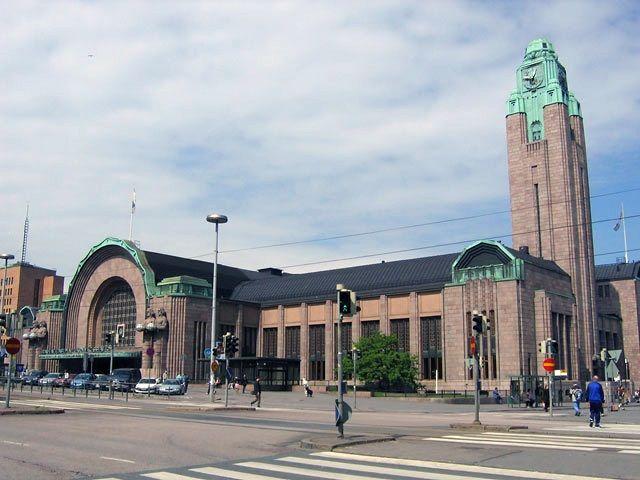 Estación central de tren de Helsinki