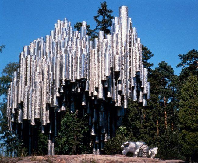 Monumento a Jean Sibelius en Helsinki
