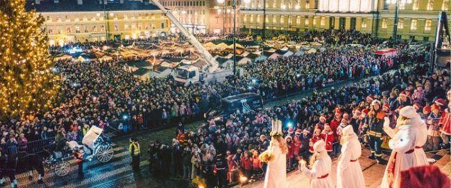 El día de Santa Lucía en Helsinki