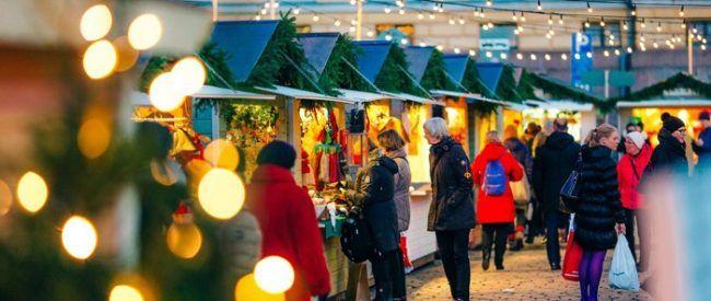 Mercado de Navidad de Helskinki