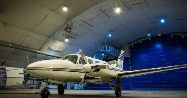 El jet privado con el que volaremos en busca de la Aurora Boreal