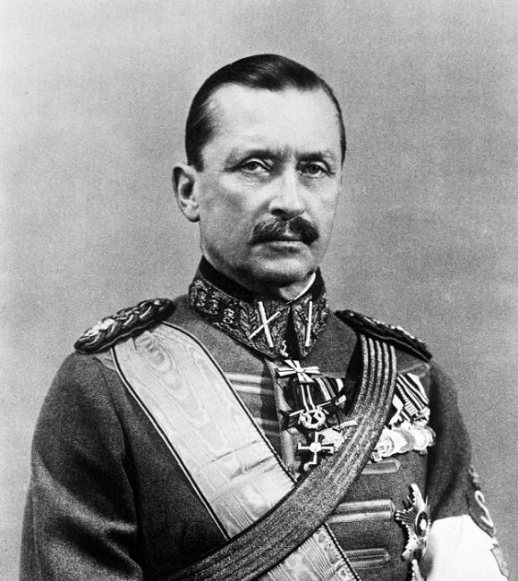 El sexto presidente de Finlandia: Carl Gustaf Emil Mannerheim