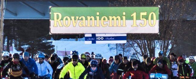 El ultramaratón de invierno Rovaniemi150 también se unió a la celebración del 100 aniversario