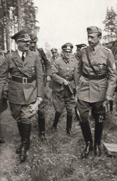 Mannerheim y Hitler