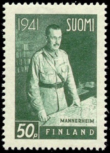 Sello de Mannerheim en 1941