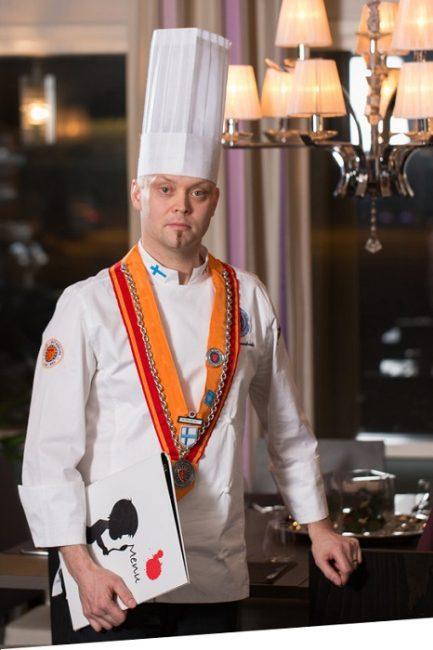 El reconocido Chef finlandés Jari Ruonakoski