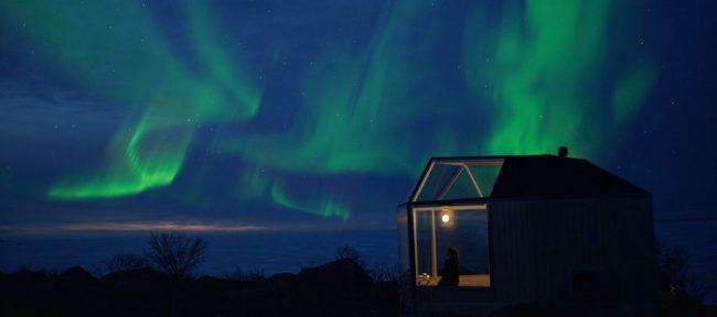 La Aurora Boreal en ocasiones alcanza latitudes más bajas. En esta ocasión vista desde el Archipiélago Kvarken en Vaasa